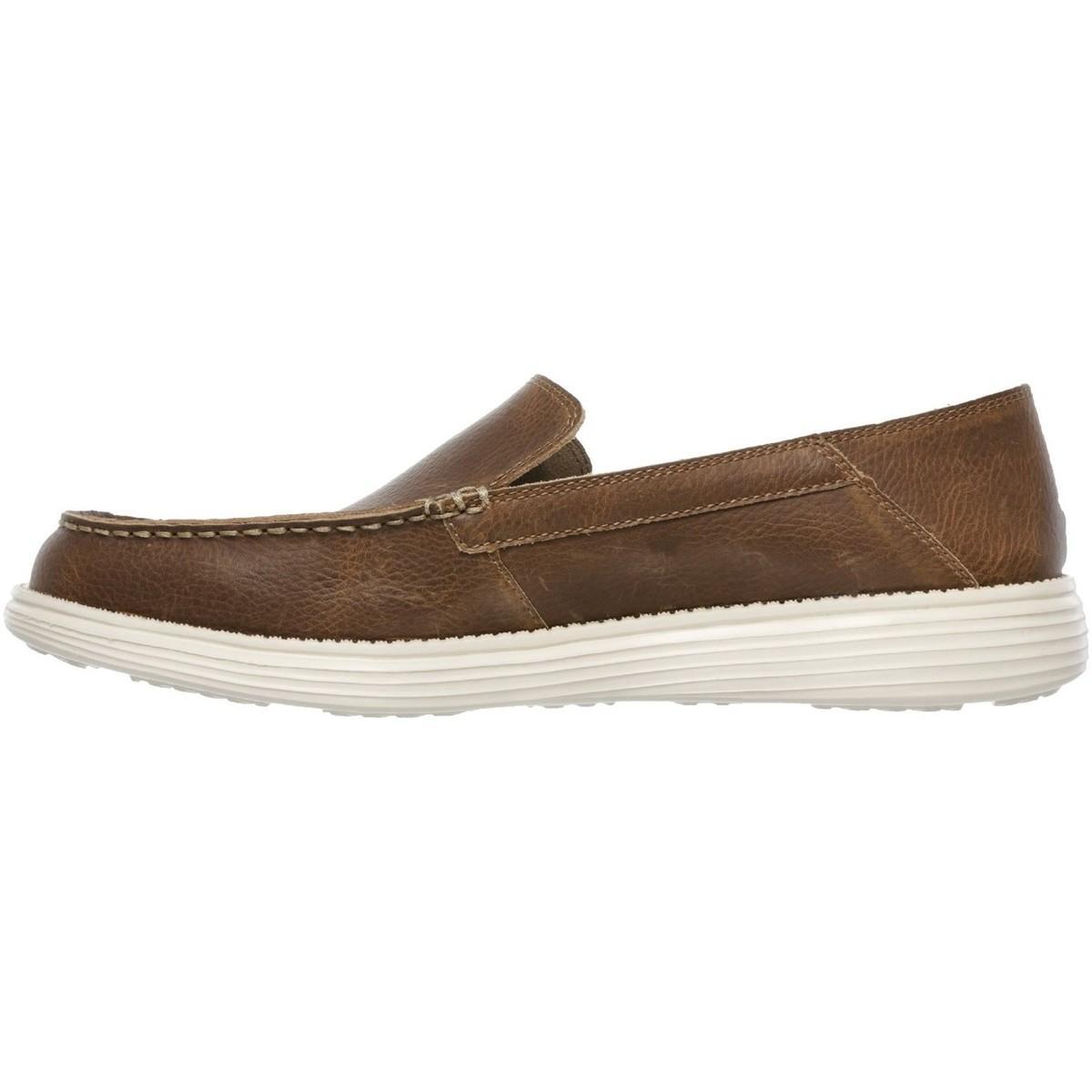 Skechers Homme Status Breson Casual Shoes Semelle
