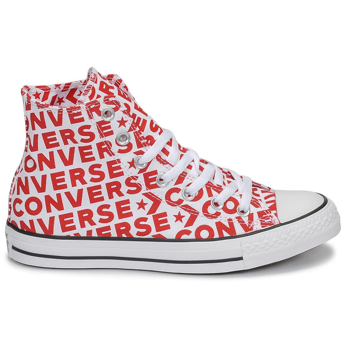 ba1a4b756ca5e2 Converse - Chuck Taylor All Star Wordmark Hi Men s Shoes (high-top Trainers).  View fullscreen