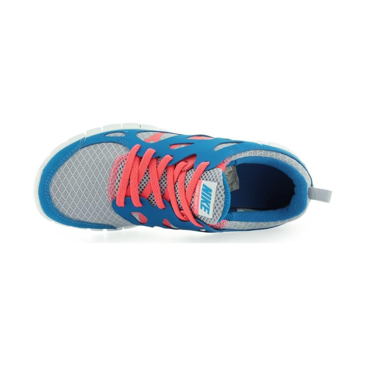 1f28a2a8281 nike-blue-Free-Run-2-Gs-Wolf-Grey-White-Laser-Crimson-Womens-Shoes -trainers-In-Blue.jpeg