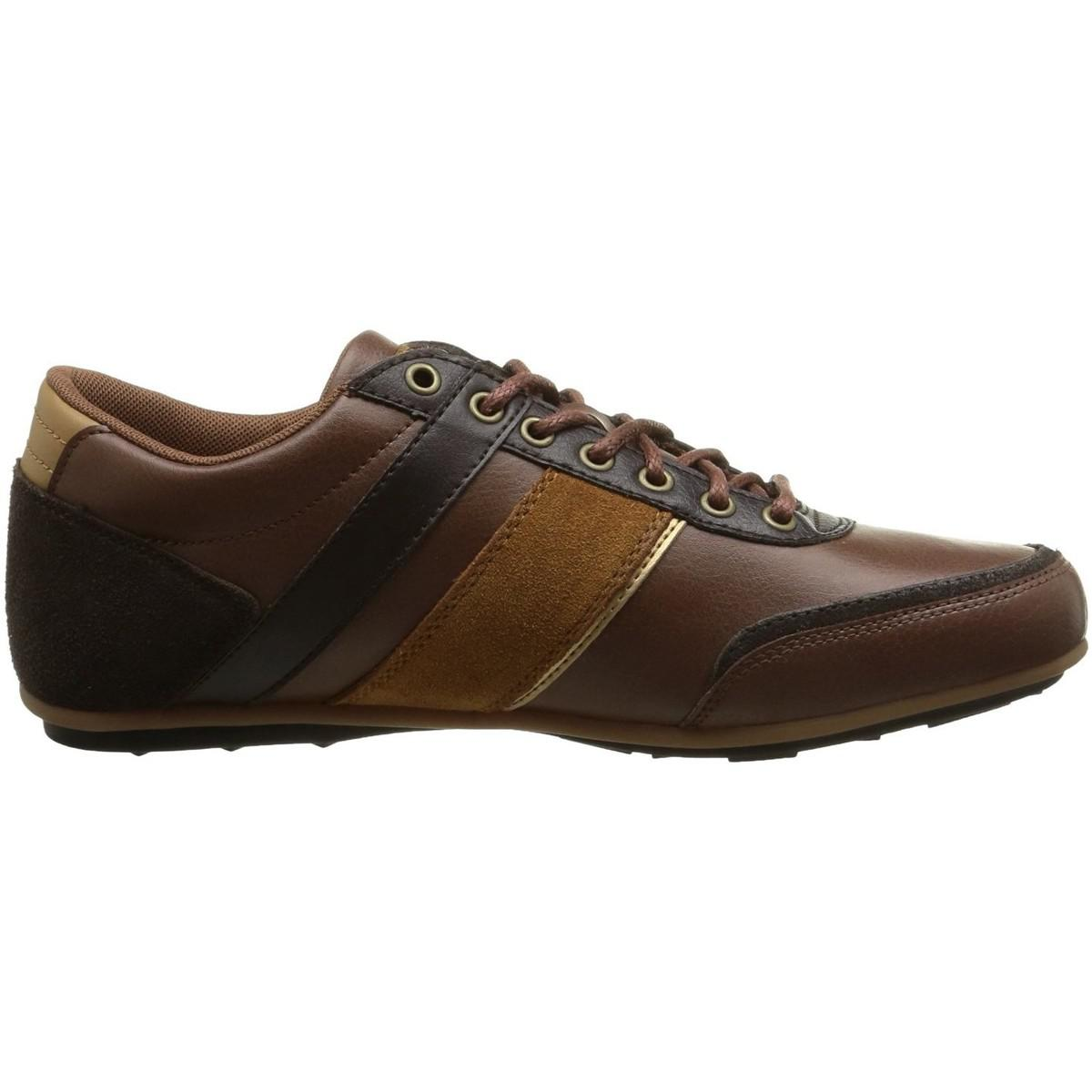 db08a5364fe9 Le Coq Sportif Andelot Syn Lea Men s Shoes (trainers) In Brown in ...
