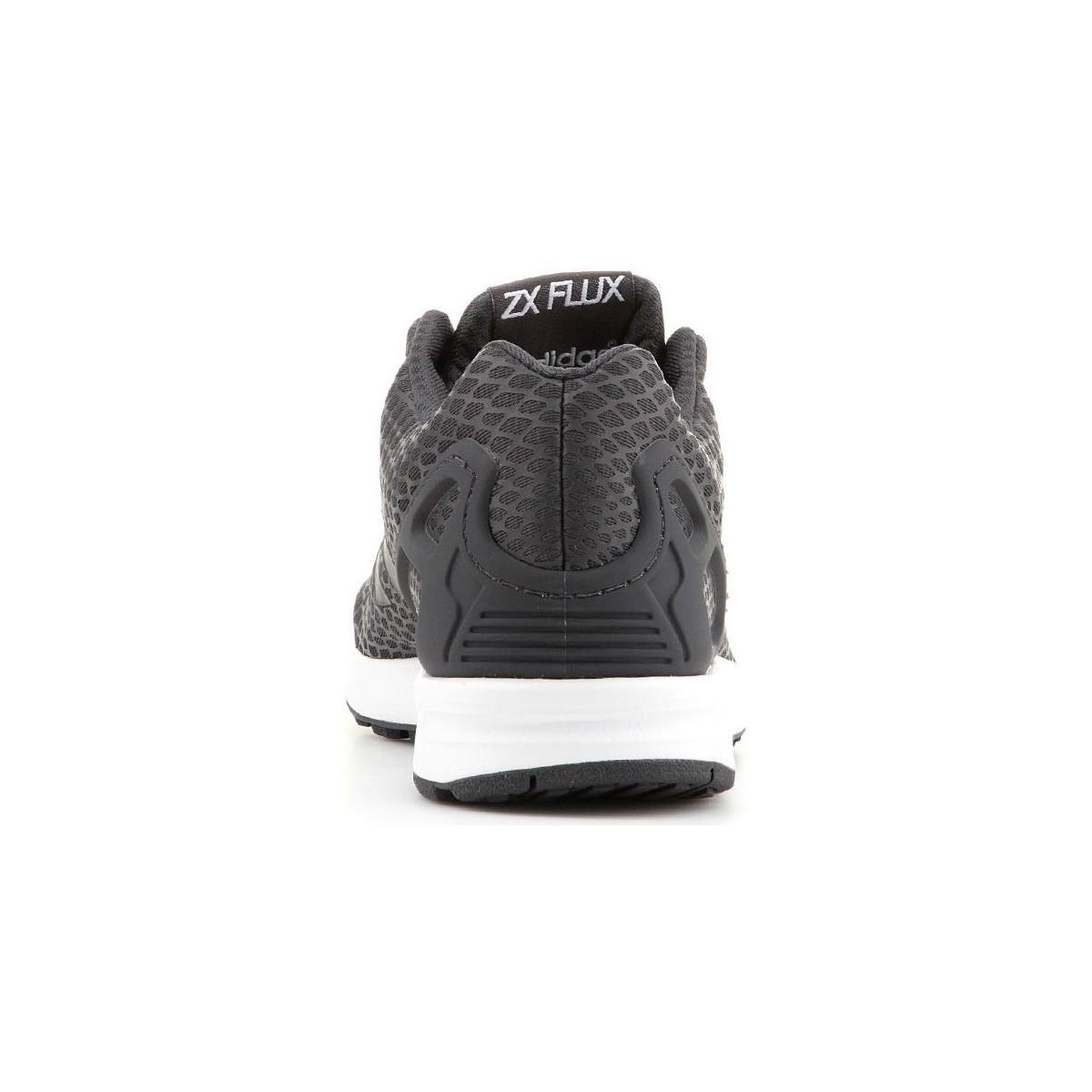 brand new a9636 c34b9 Adidas - Zx Flux Techfit S75488 Men s Shoes (trainers) In Black for Men -.  View fullscreen