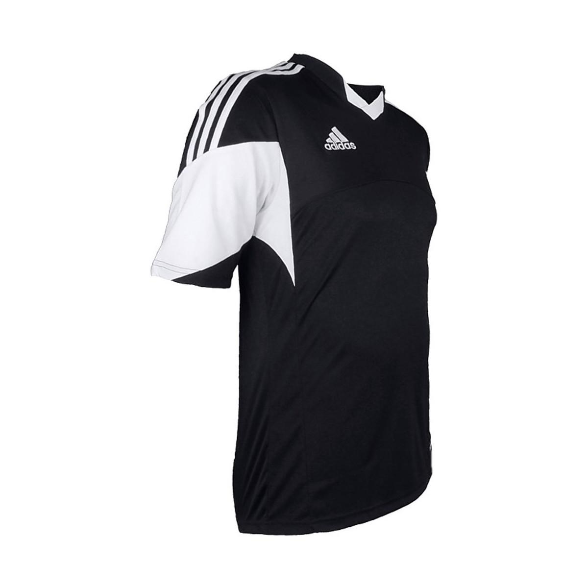 c5dd3a0e1 adidas Tiro 13 Kurzarm Trikot Men s T Shirt In Black in Black for ...