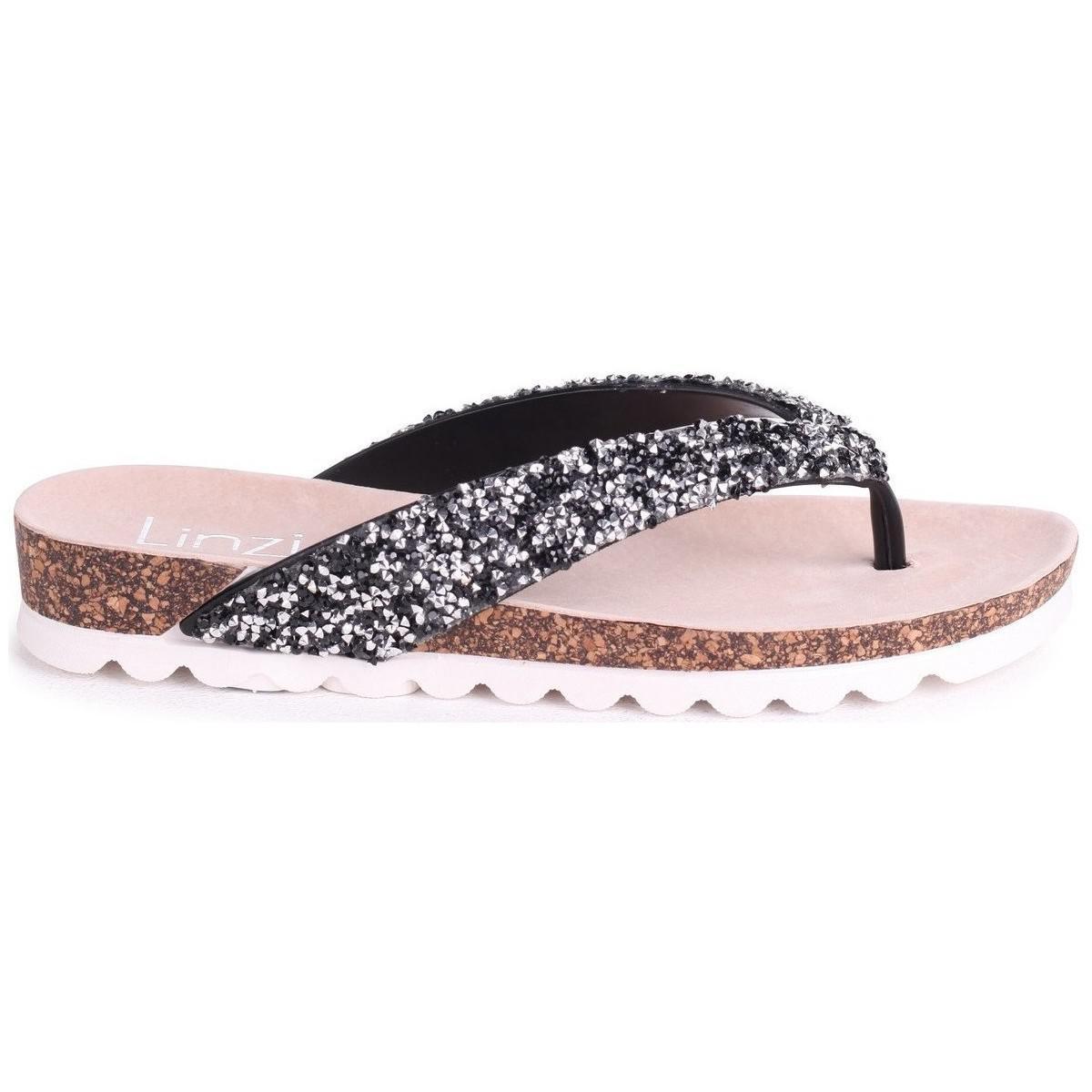 f7630c672 Linzi Jana Women s Sandals In Black in Black - Lyst