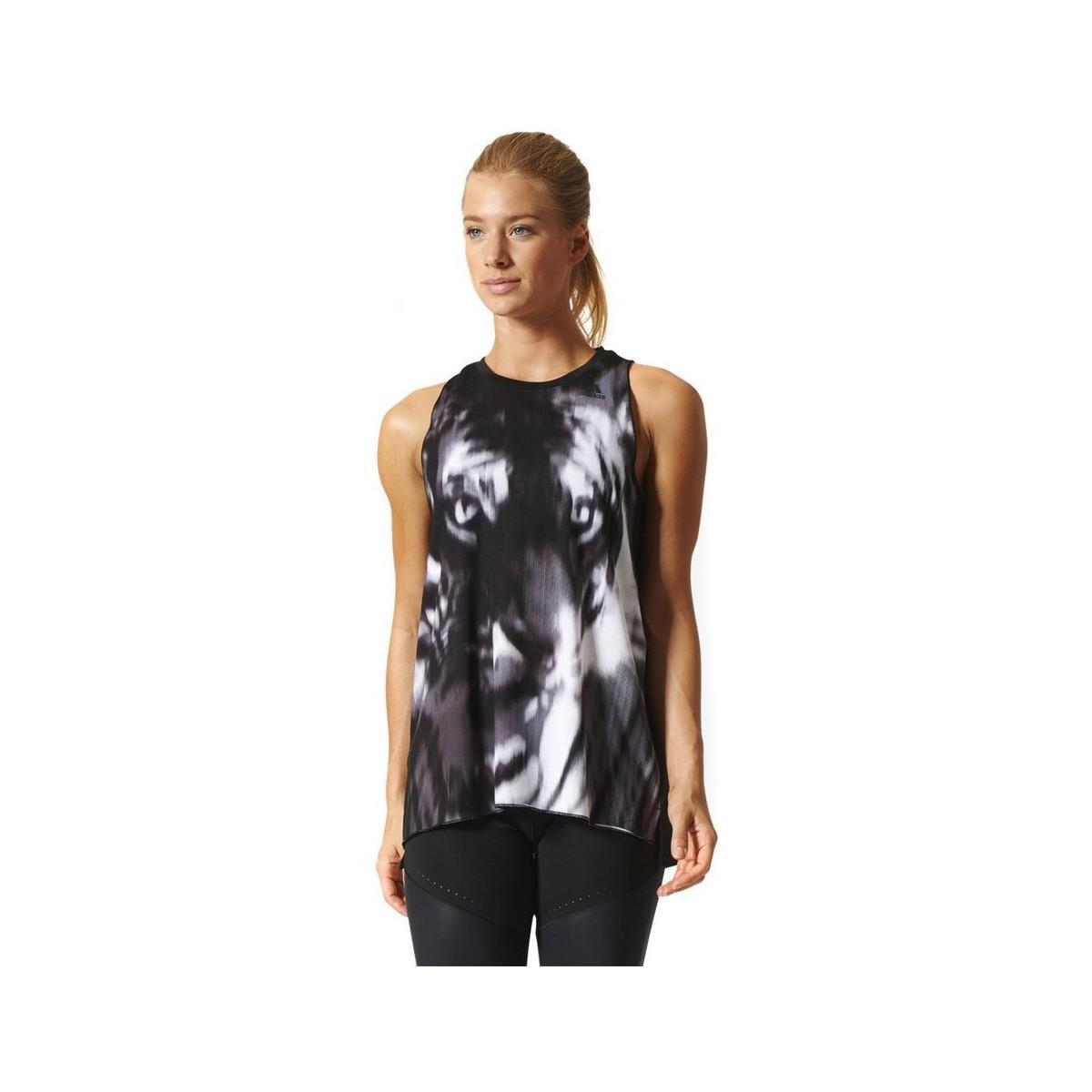 Adidas. Boxy Prime Beast Tank Top Women's Vest Top In Black