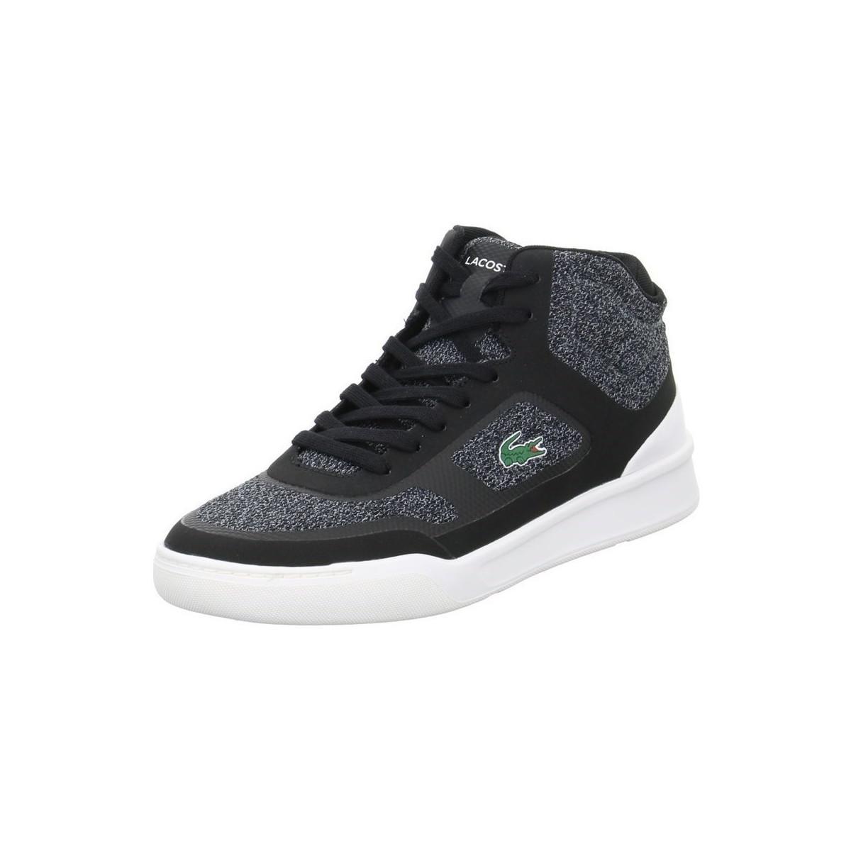 656feb15c14424 Lacoste Explorateur Spt Mid Men s Shoes (high-top Trainers) In Black ...