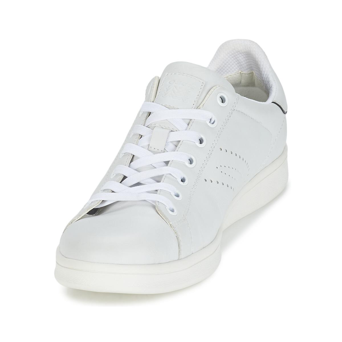 8adf6a3156 Geox Warrens B Men's Shoes (trainers) In White in White for Men - Lyst