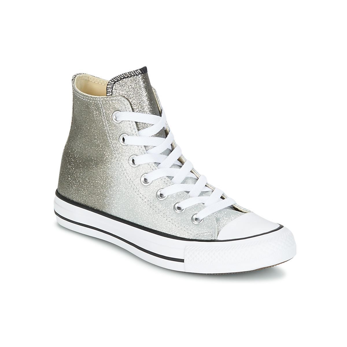 205282fb2dfc Converse Chuck Taylor All Star Hi Ombre Metallic Women s Shoes (high ...