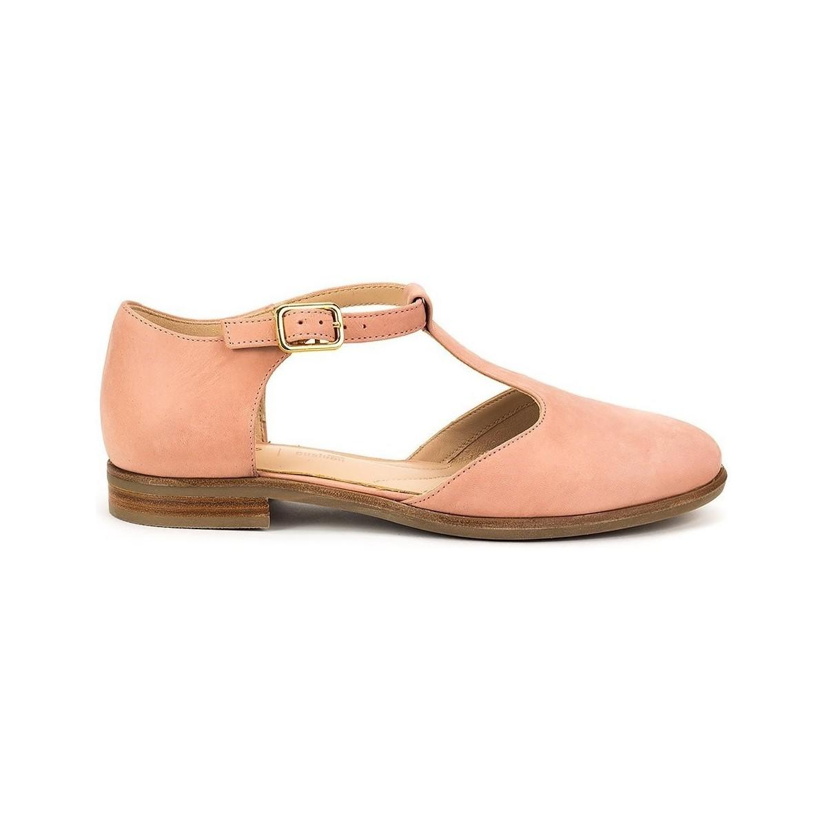 3ad1e60fd4 Clarks Alice Rosa Women's Shoes (pumps / Ballerinas) In Pink in Pink ...
