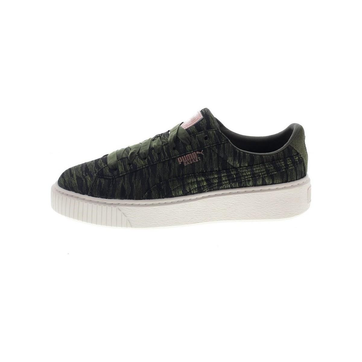 Puma Basket Platform Women s Shoes (trainers) In Multicolour in ... 186aff7aae4