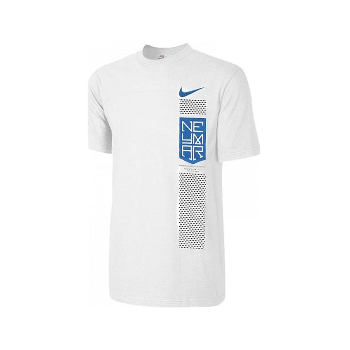 1afc4ac5ef Nike 2017-2018 Neymar Dry Tee Men's T Shirt In Blue in Blue for Men ...