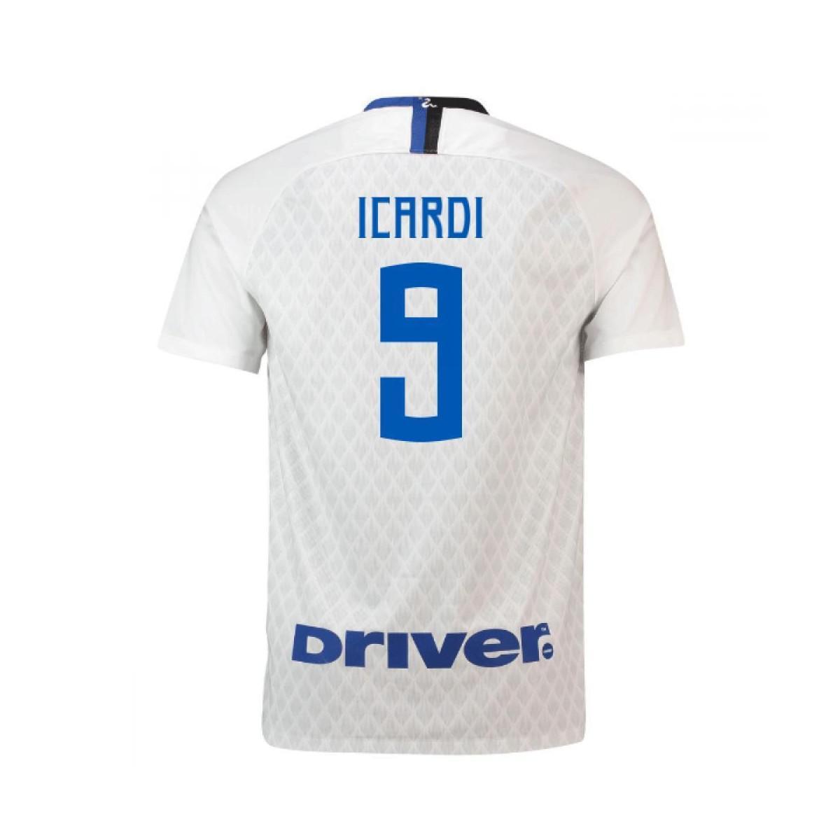 3b0485111 Nike 2018-19 Inter Milan Away Shirt (icardi 9) Men's T Shirt In ...