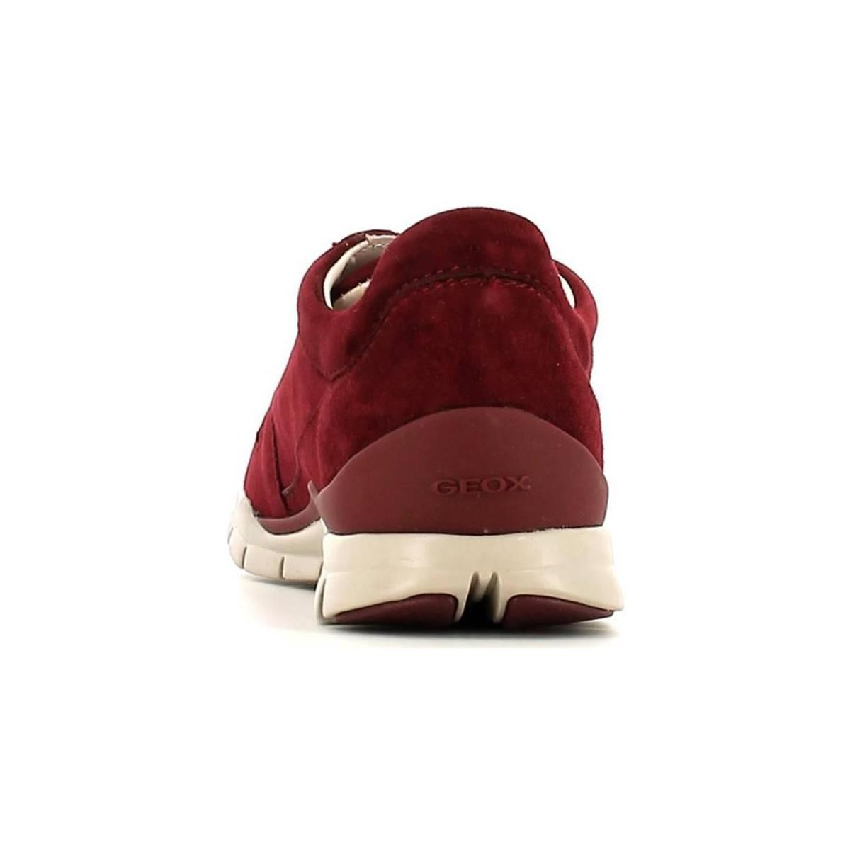 9ec02b42545 Geox D52f2a 00021 Sneakers Women Women's Walking Boots In Red in Red ...