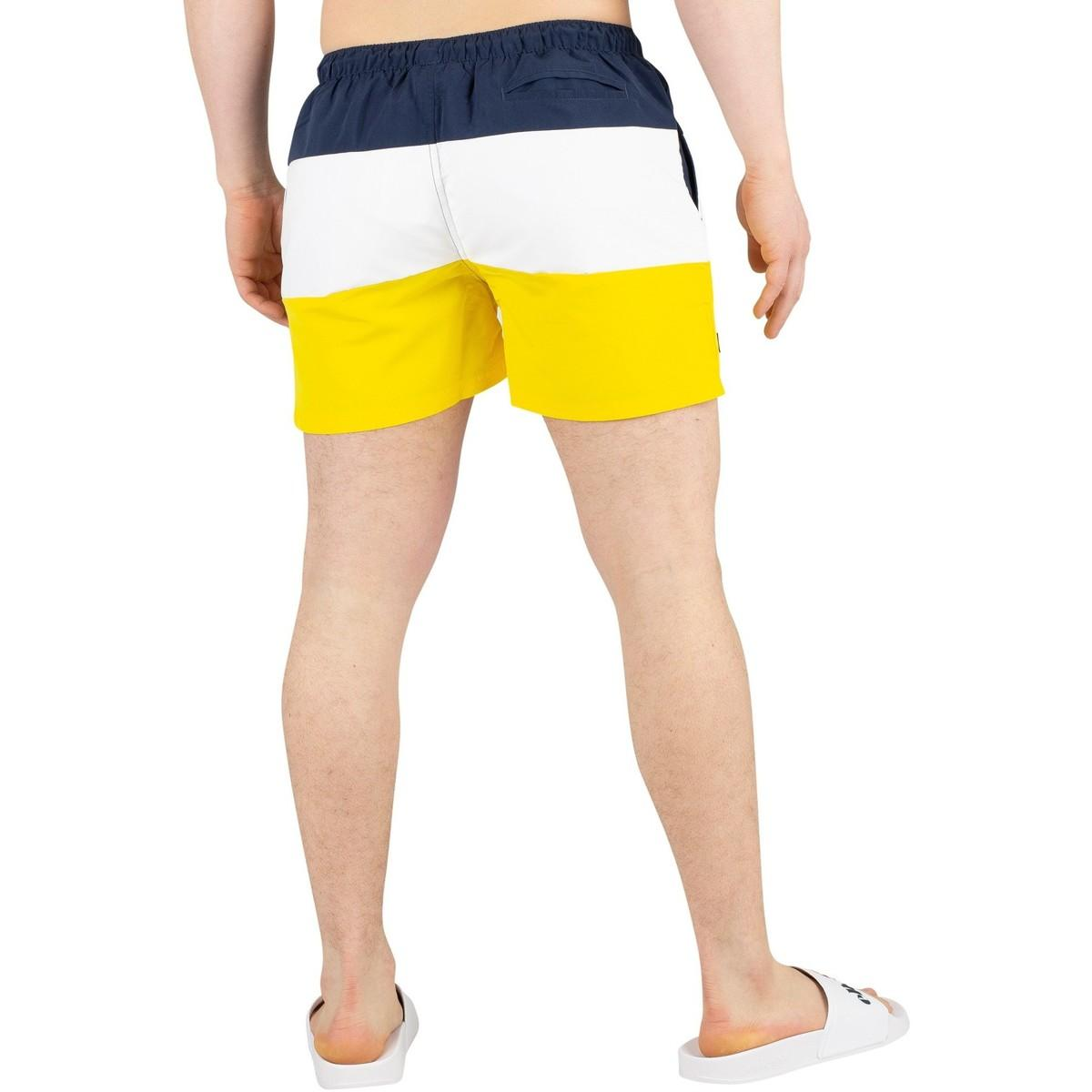 4cdc93298e Ellesse - Men's Cielo Swimshorts, Yellow Men's Shorts In Yellow for Men -  Lyst. View fullscreen