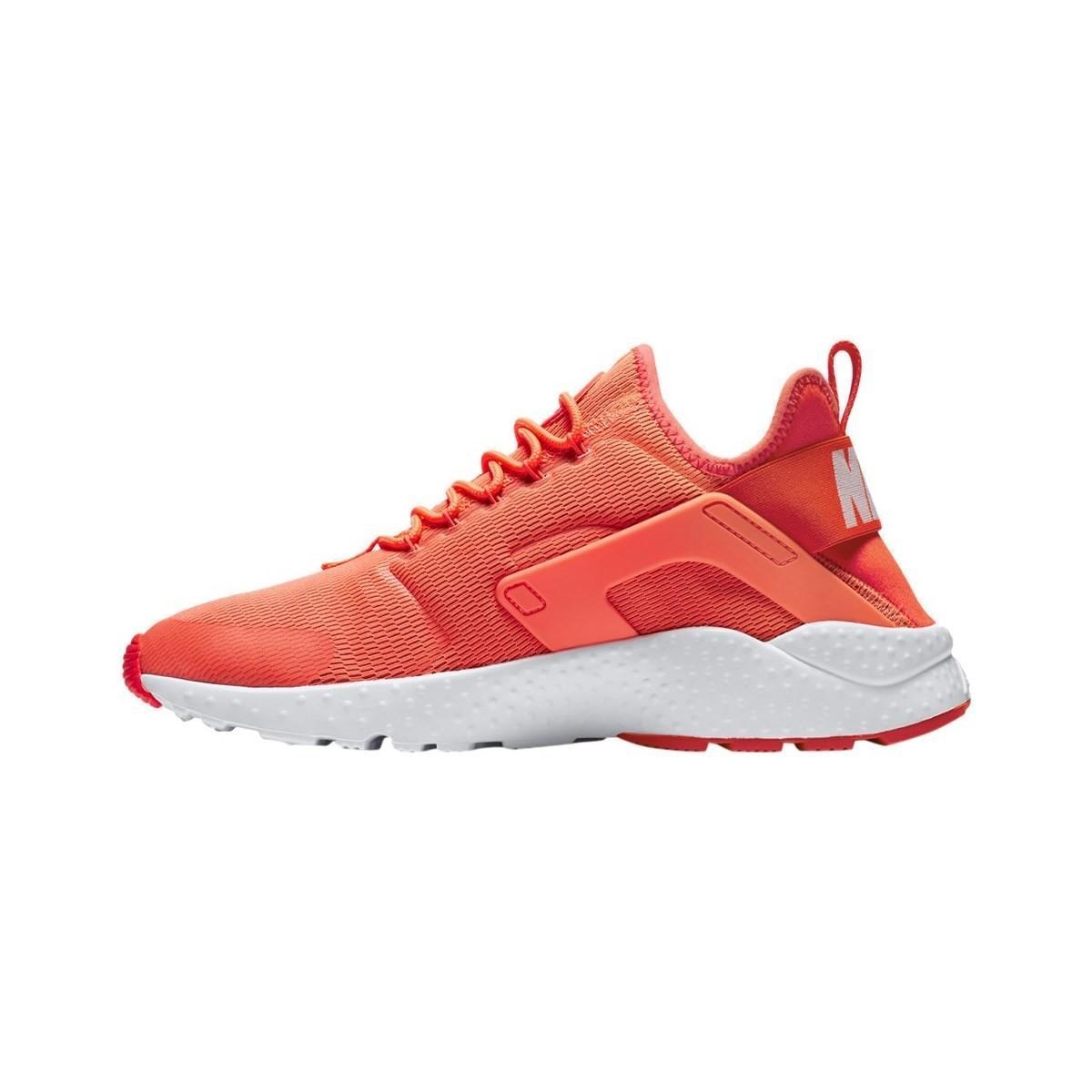 1185bb27c107d Nike - Red W Air Huarache Run Ultra Women s Shoes (trainers) In Multicolour  -. View fullscreen