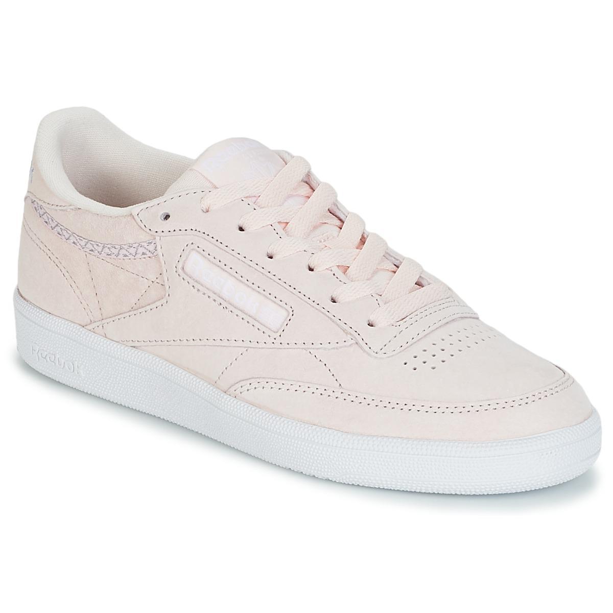 80db56b11c297 Reebok Club C 85 Trim Nbk Shoes (trainers) in Pink - Lyst