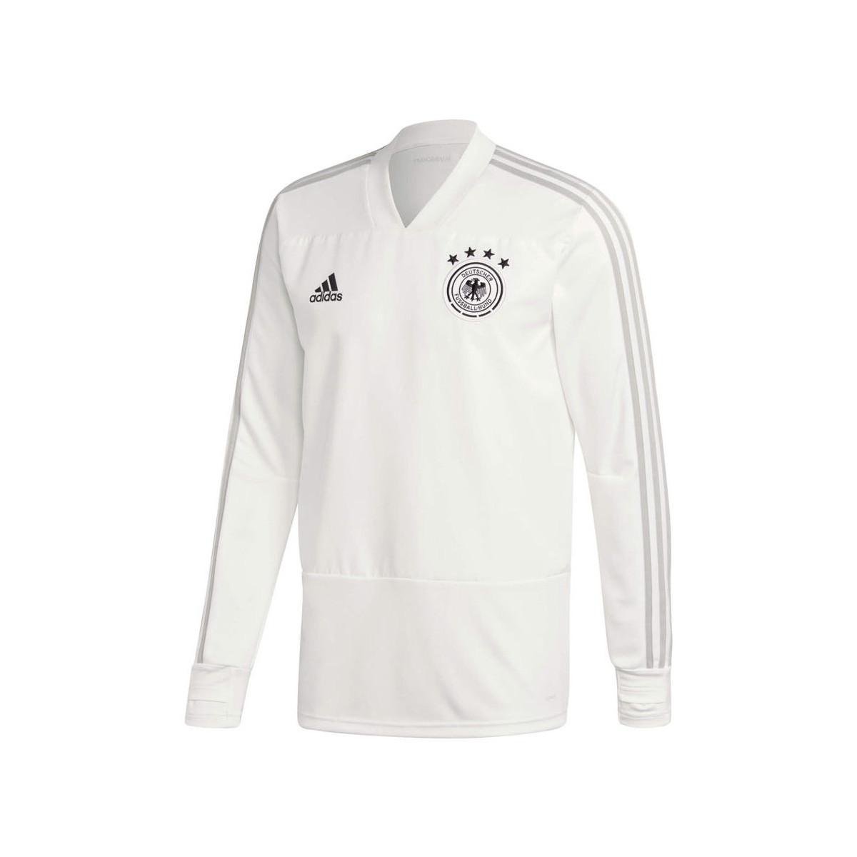 f8648775a adidas 2018-2019 Germany Training Top (pure) Men s Sweatshirt In ...
