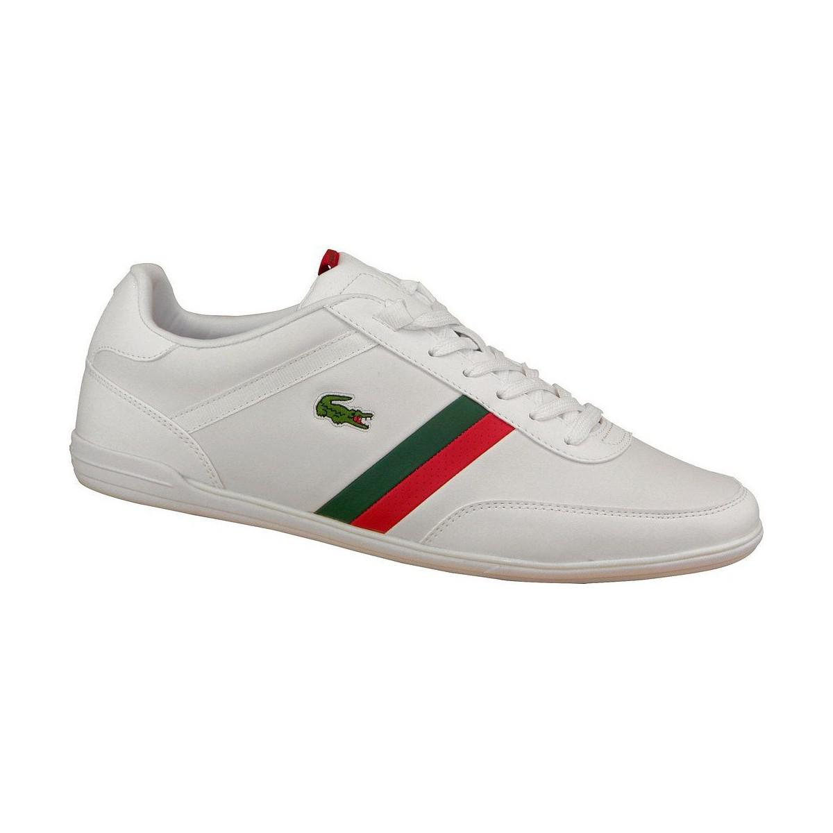 3ec0646249b7c9 Lacoste Giron Scy Spm Men s Shoes (trainers) In White in White for ...