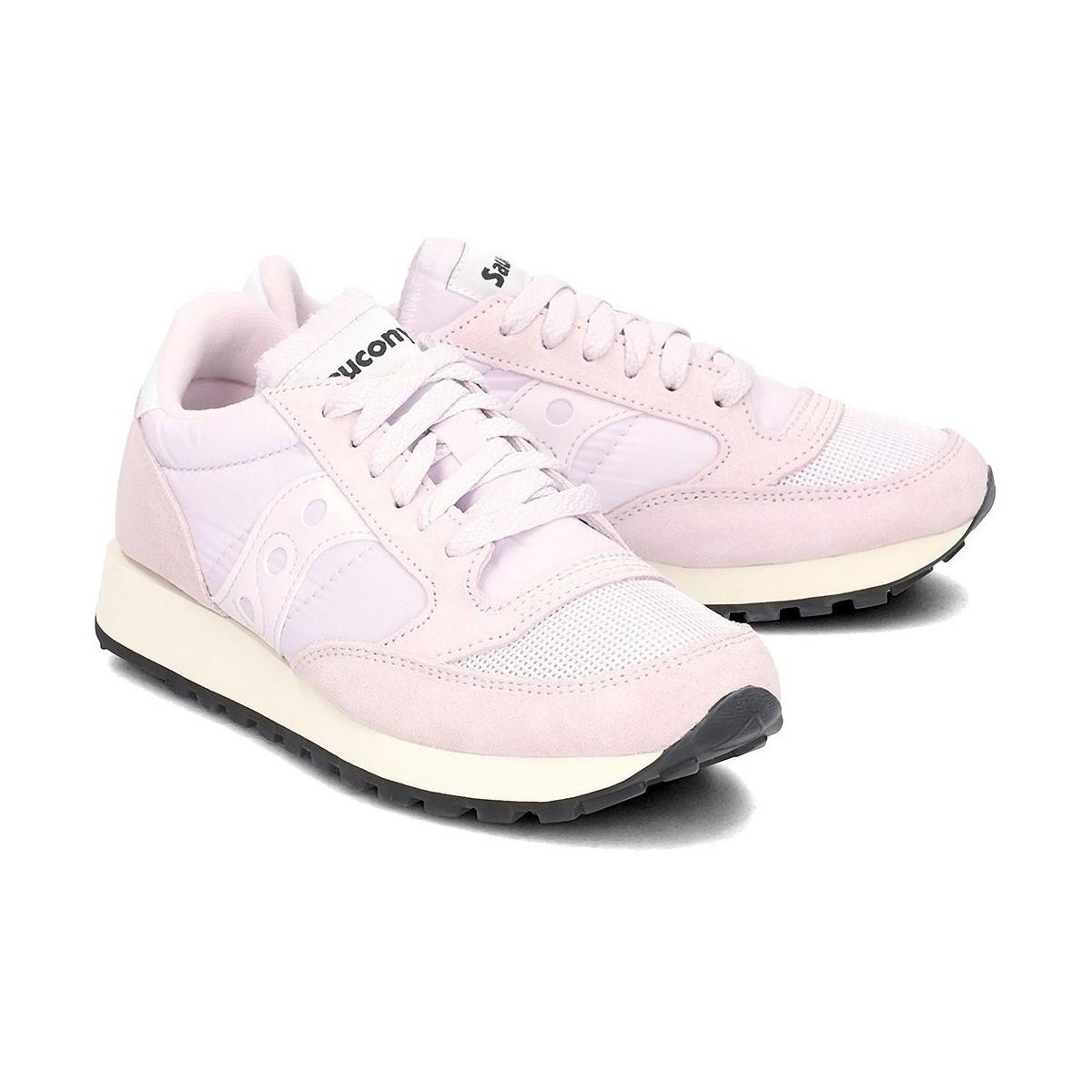 7a6fb748a82 Saucony - Jazz Original Women s Shoes (trainers) In Pink - Lyst. View  fullscreen
