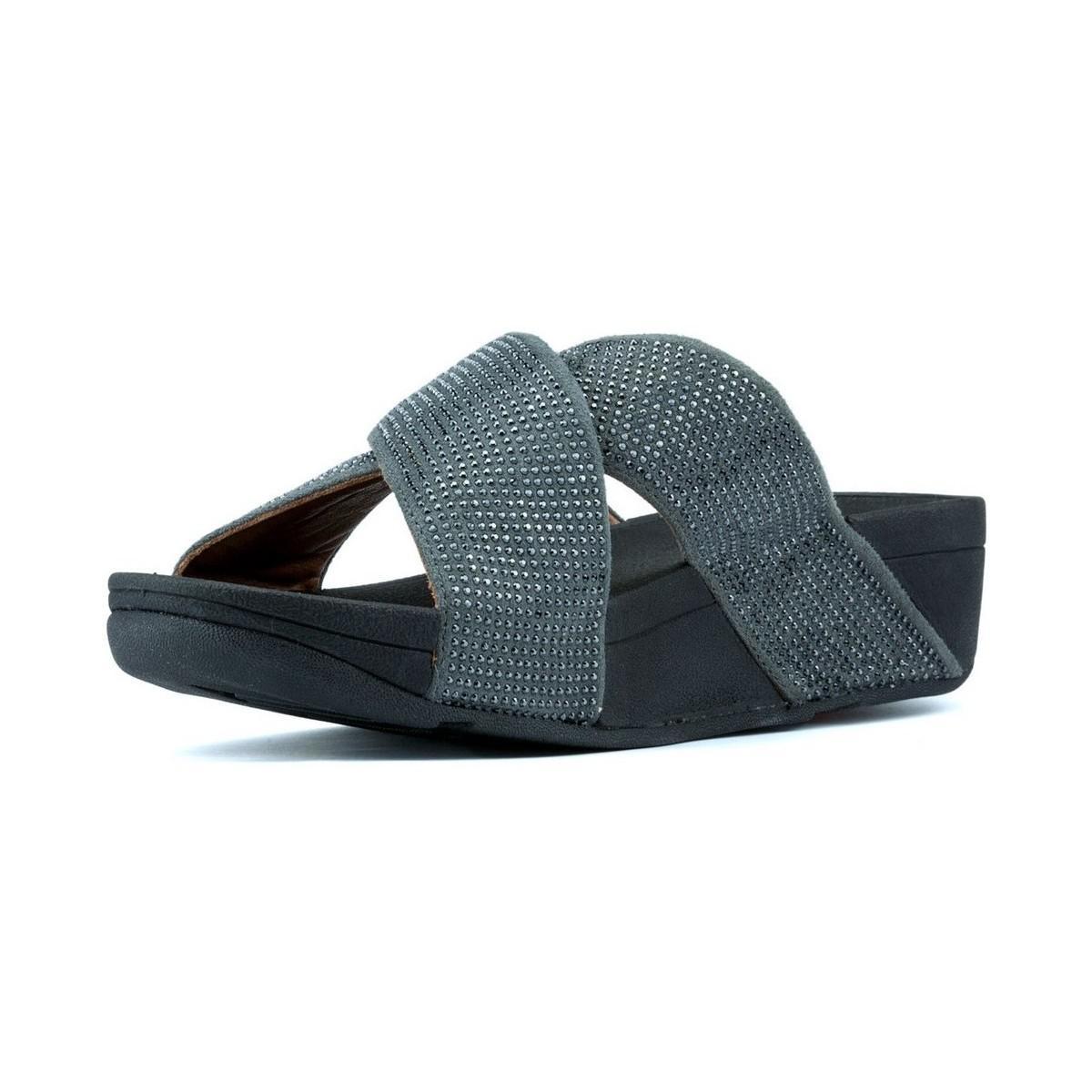 139c17959225 Fitflop - S Ritzy Slide W Women s Sandals In Black - Lyst. View fullscreen