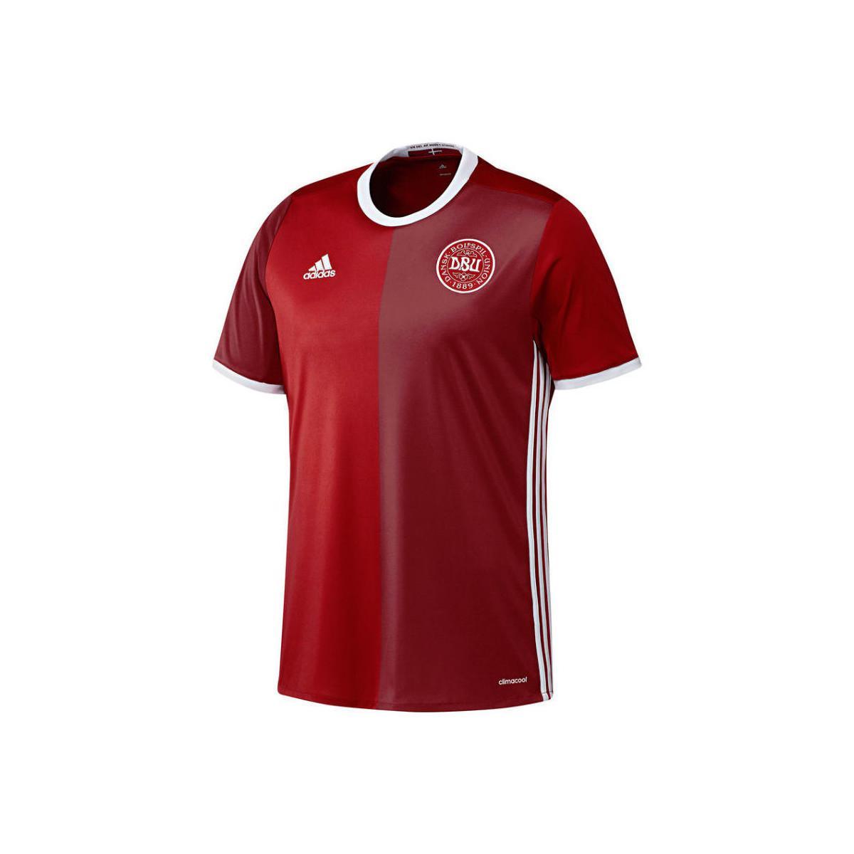fe764d52bc6 Lyst - Adidas 2016-2017 Denmark Home Shirt (bendtner 11) Women's T ...