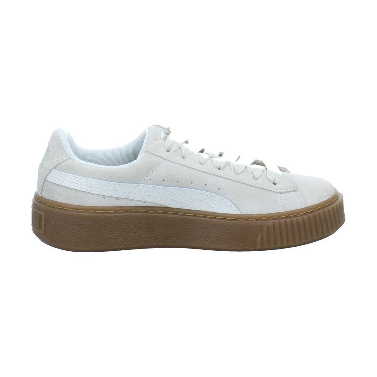 separation shoes d2032 4c066 PUMA Suede Platform Bubble Women's Shoes (trainers) In ...