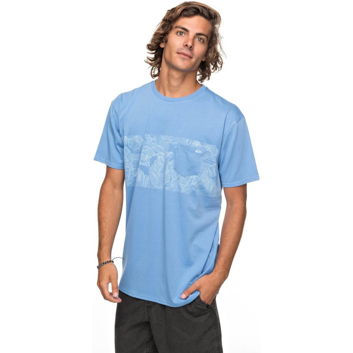 Quiksilver Mantra Right - Camiseta Con Bolsillo Eqyzt04790 Men s ... 3daea2b79d