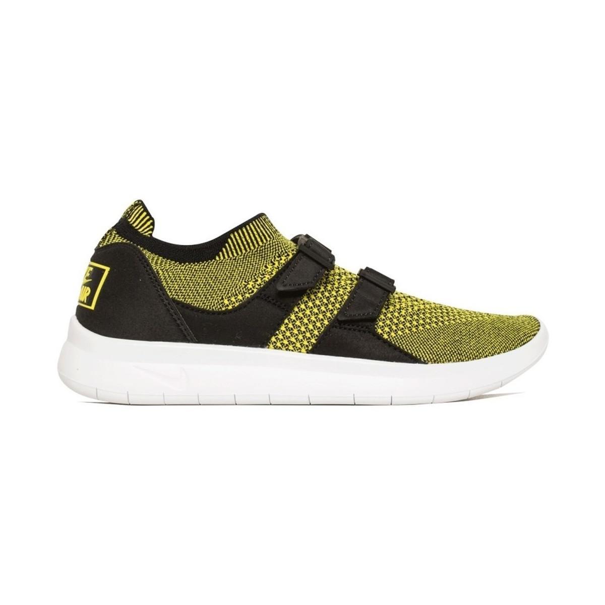 da6492b8dda8 Nike Air Sock Racer Ultra Flyknit Men s Shoes (trainers) In Yellow ...