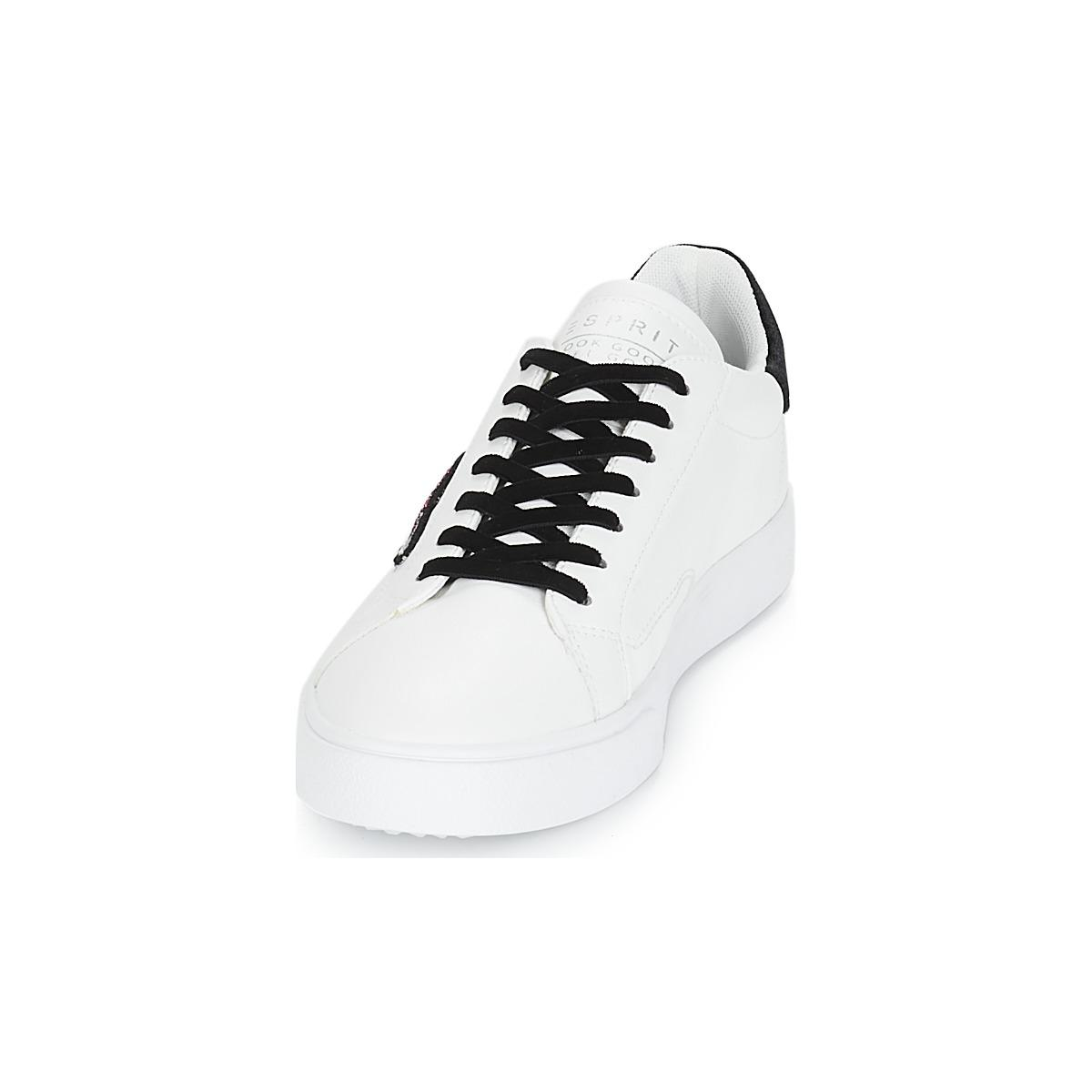 Women's Ufo trainers Lyst in White Lu Esprit Shoes Cherry In White qp5Tft