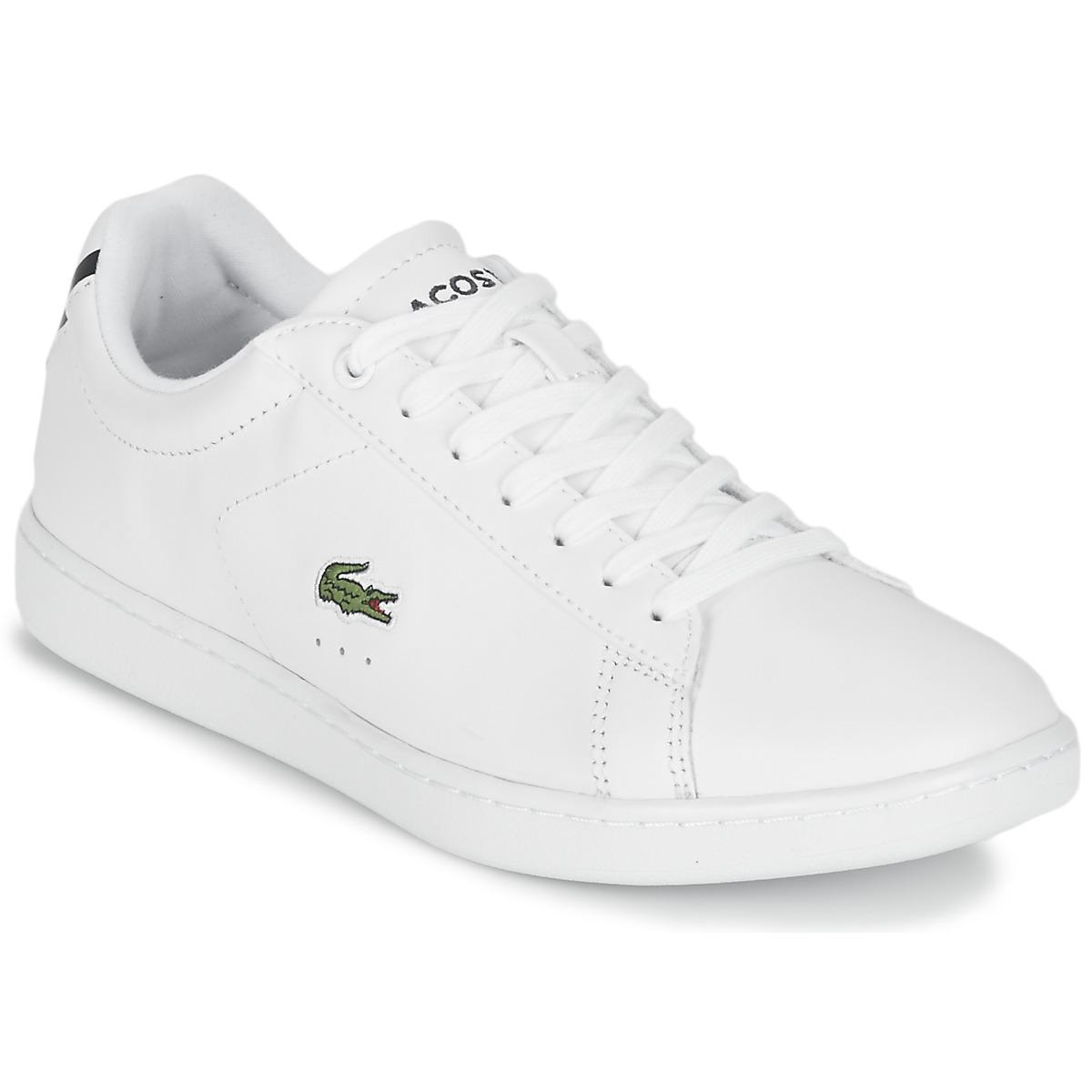 9a17769fb7 CARNABY EVO BL 1 femmes Chaussures en blanc Lacoste en coloris Blanc ...