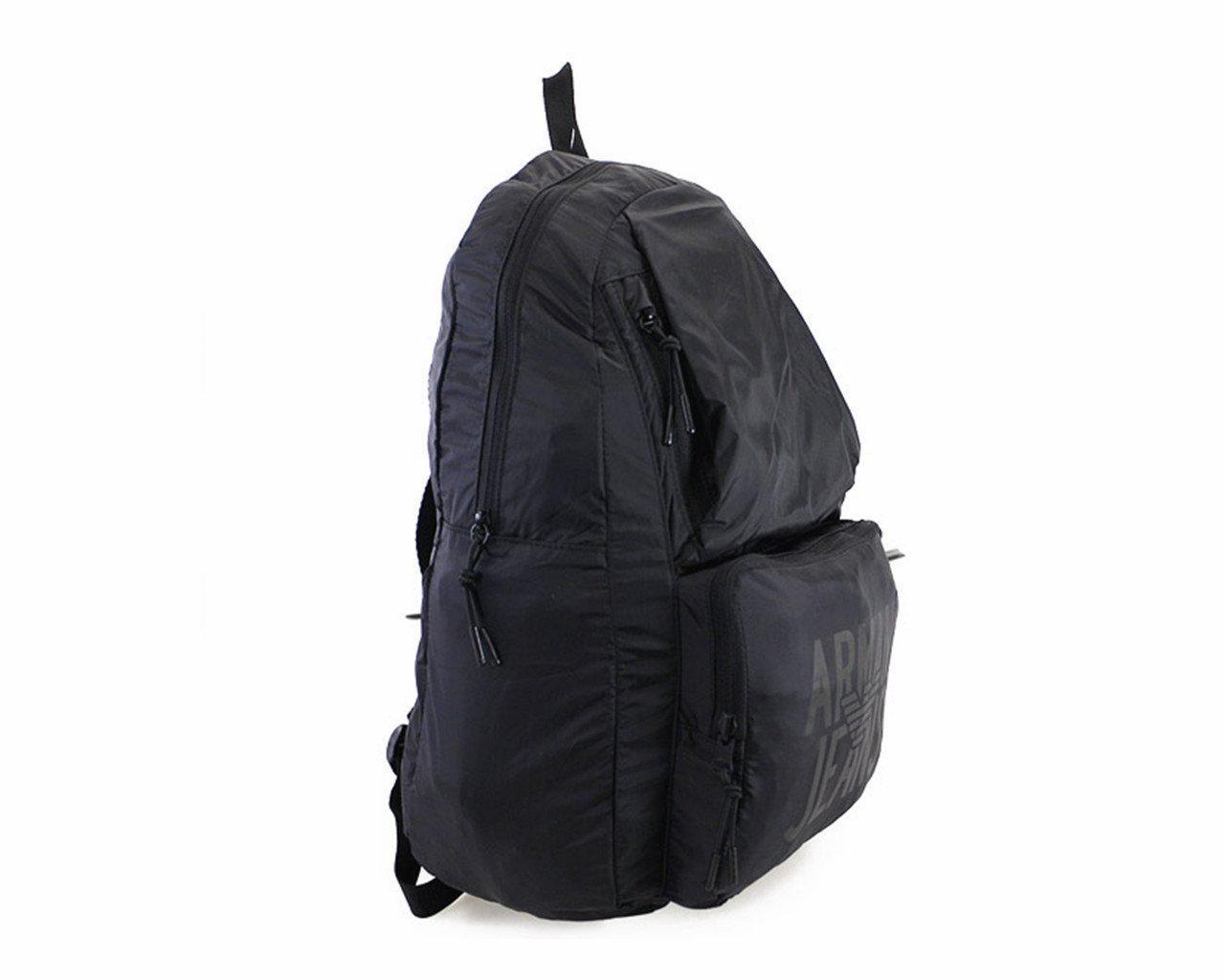 c052a2dcb2 Armani Jeans Zaino Backpack Black Bag in Black for Men - Lyst