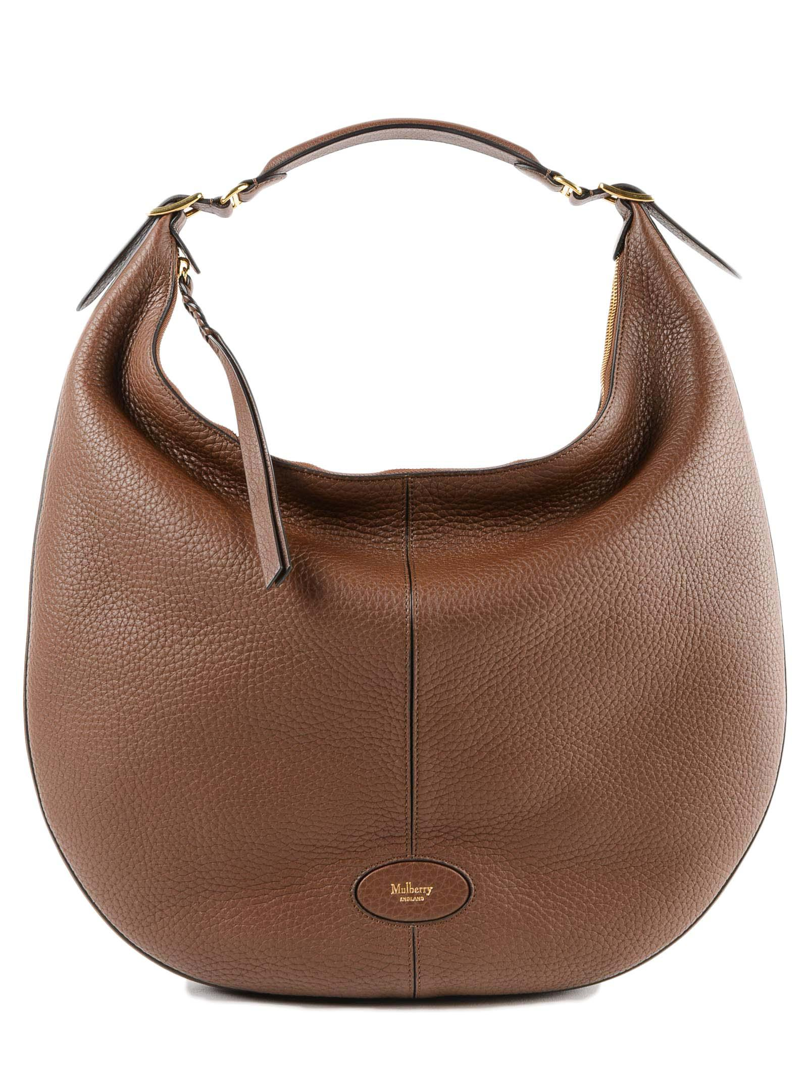 965c3c8fd6 Mulberry L Selby Bag in Brown - Lyst