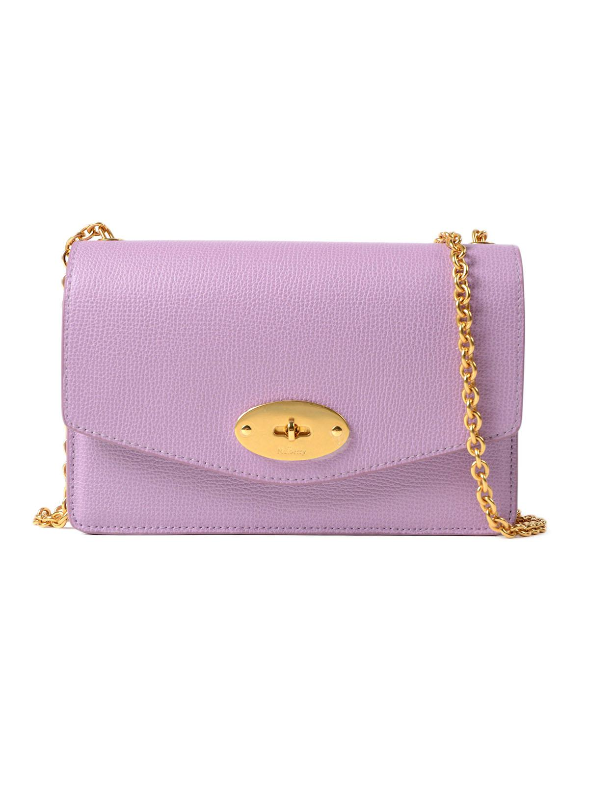 41771bd5229 Mulberry Small Darley Bag in Purple - Lyst