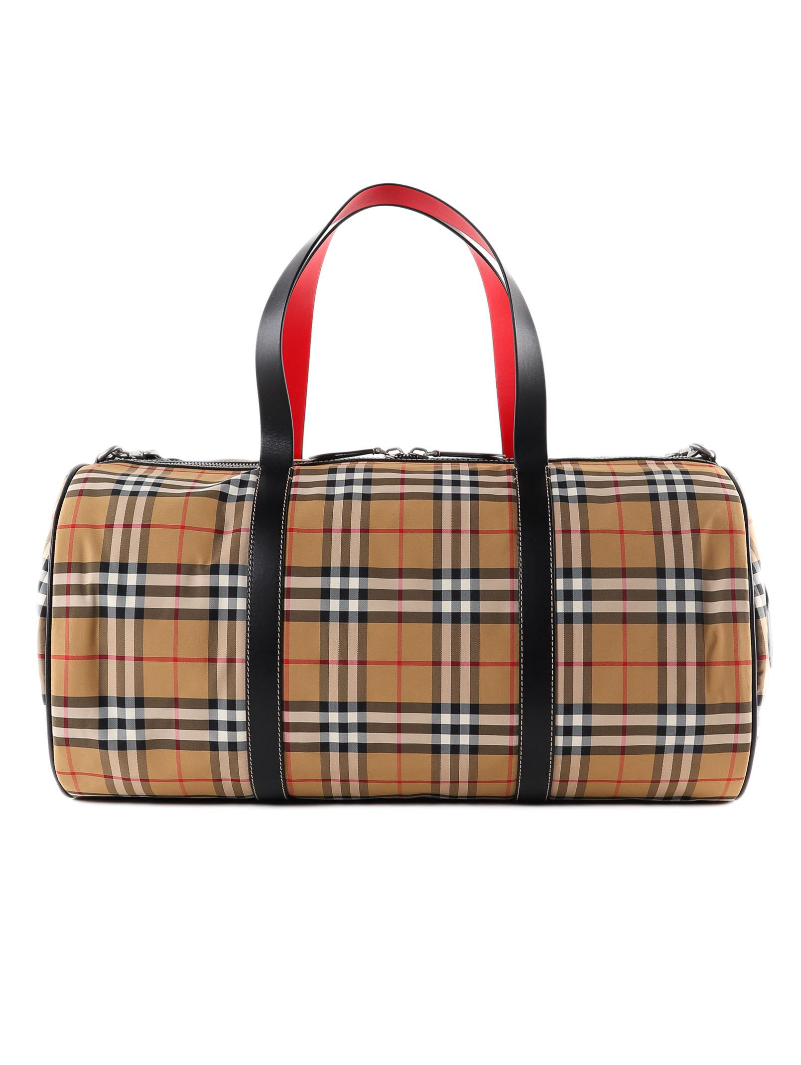 437d6cc62ec8 Lyst - Burberry Lg Kennedy Duffle for Men