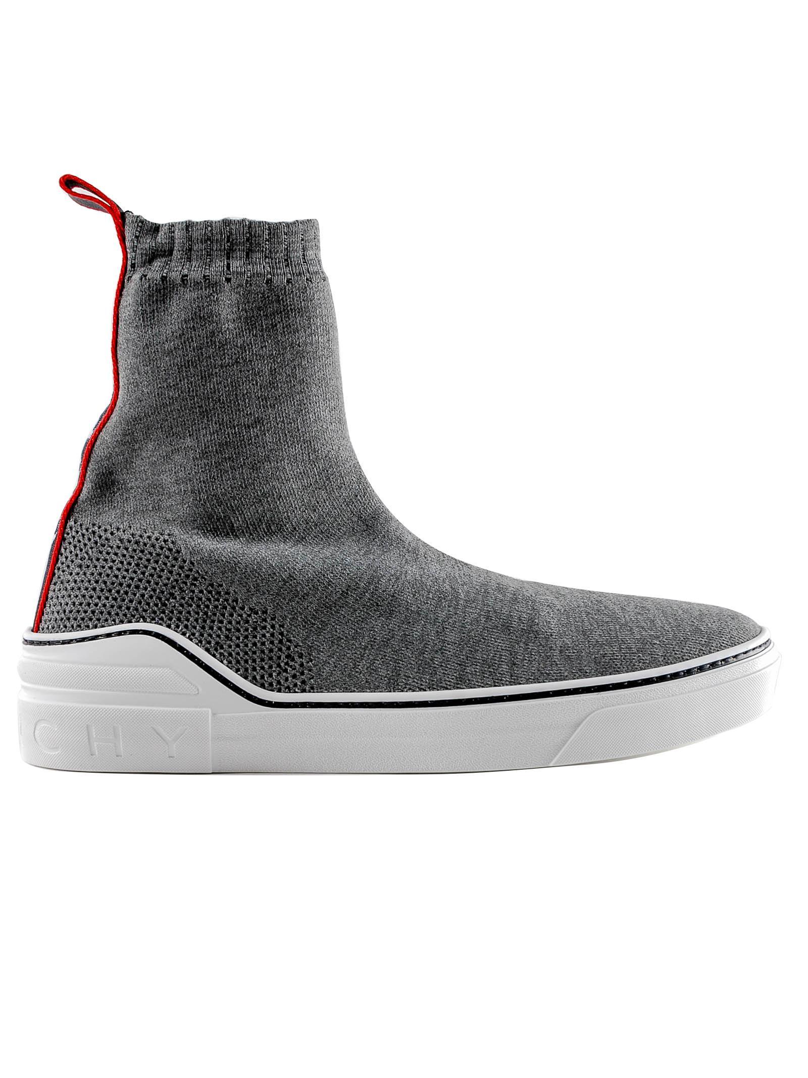 55af0b2521a64 Lyst - Givenchy George V Mid Sock Sneaker in Gray for Men