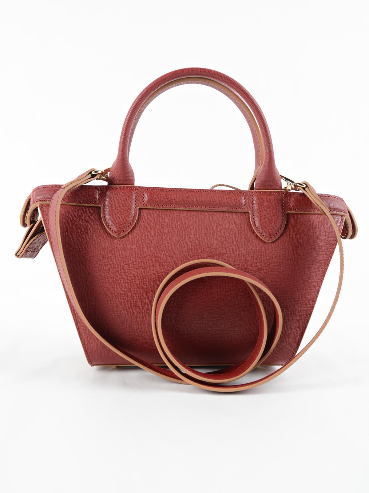 Longchamp Le Pliage Heritage Bag S In Red Lyst Neo Ruby Sz Small Gallery
