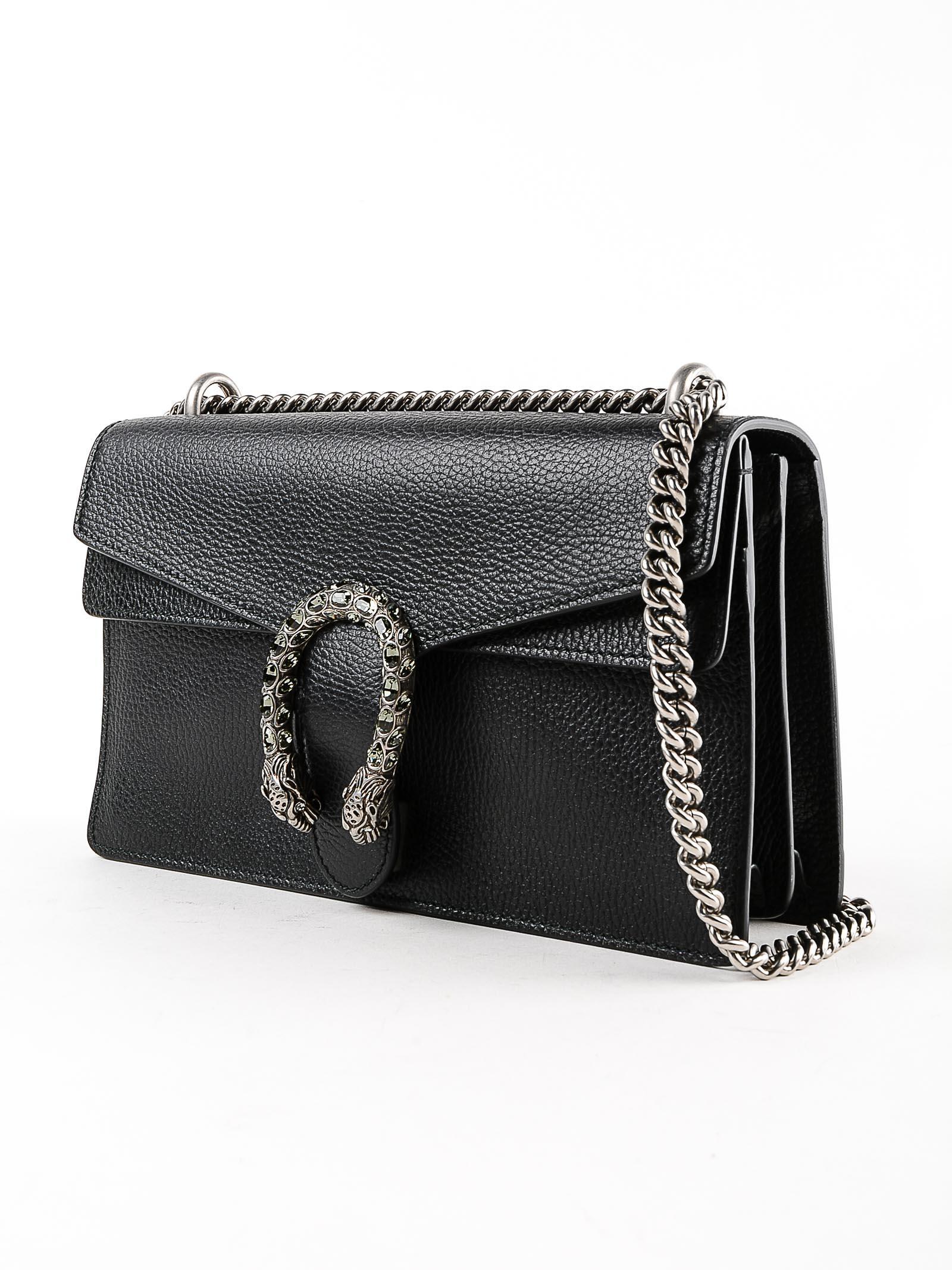 0e304df8fee Lyst - Gucci Dionysus Bag in Black