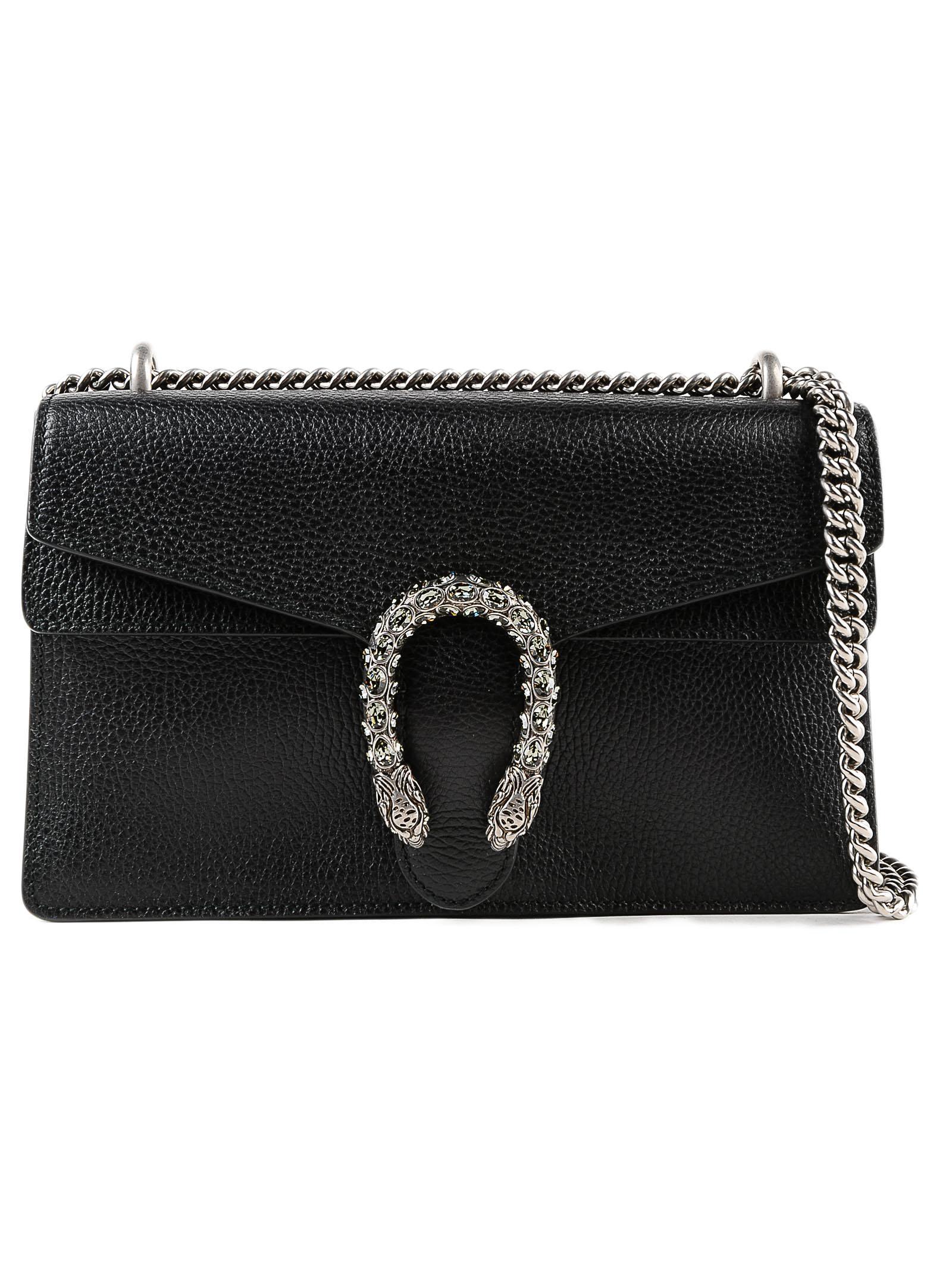 19b81d52ebd Lyst - Gucci Dionysus Bag in Black