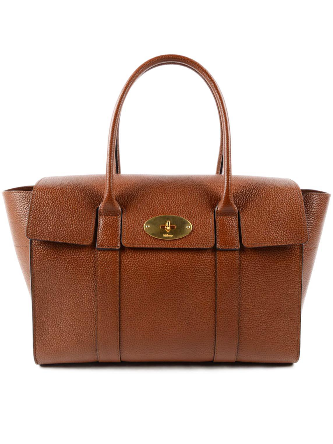 8e336c58f4e9 Lyst - Mulberry Bayswater in Brown