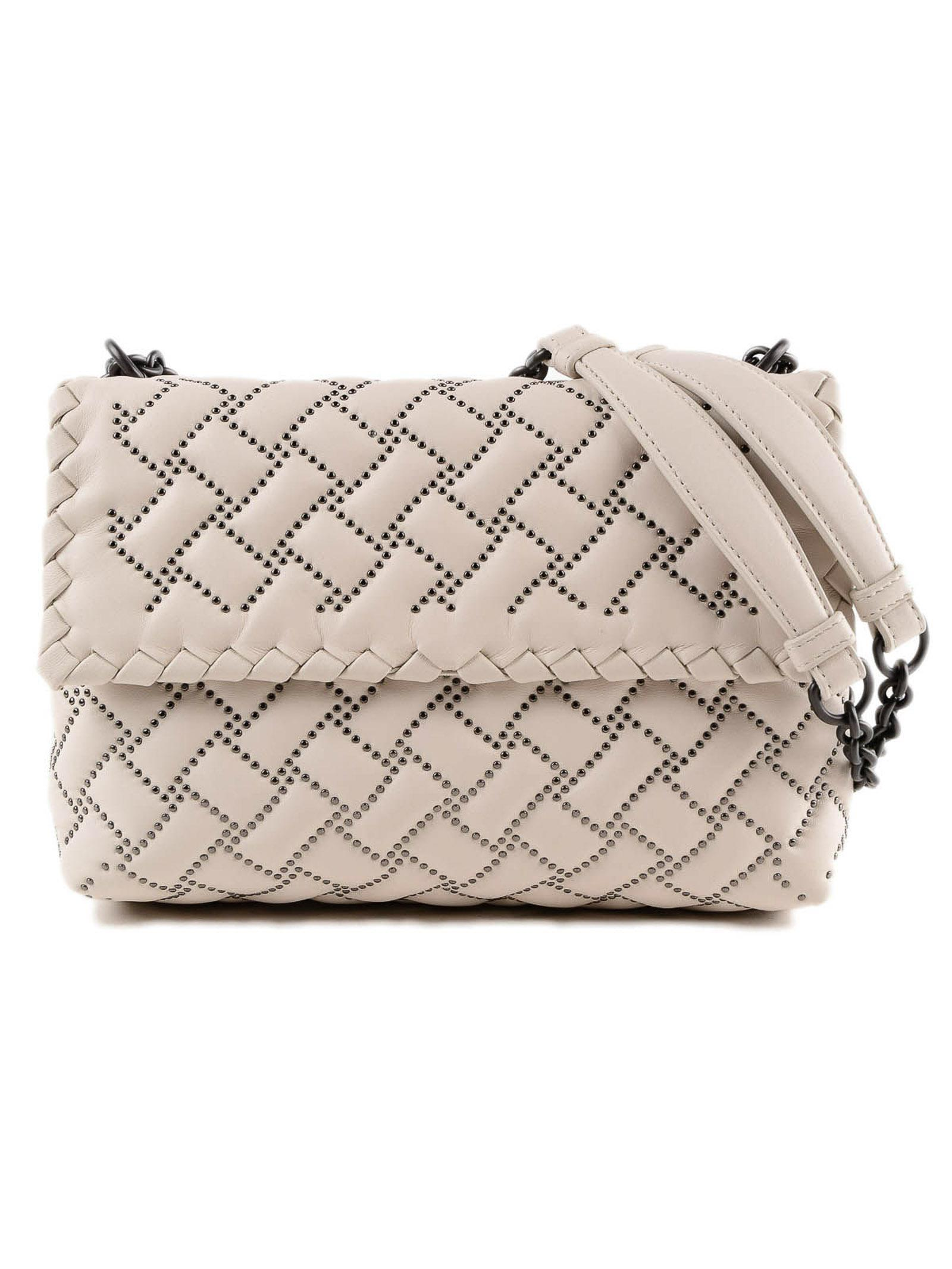 Lyst - Bottega Veneta Sm Olimpia Bag in Natural bce44e03fc