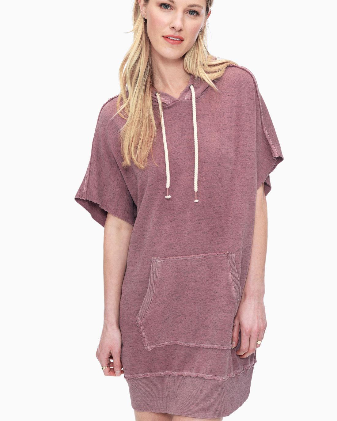 Lyst - Splendid Cubist Active Hoodie Dress f5fee0ede0