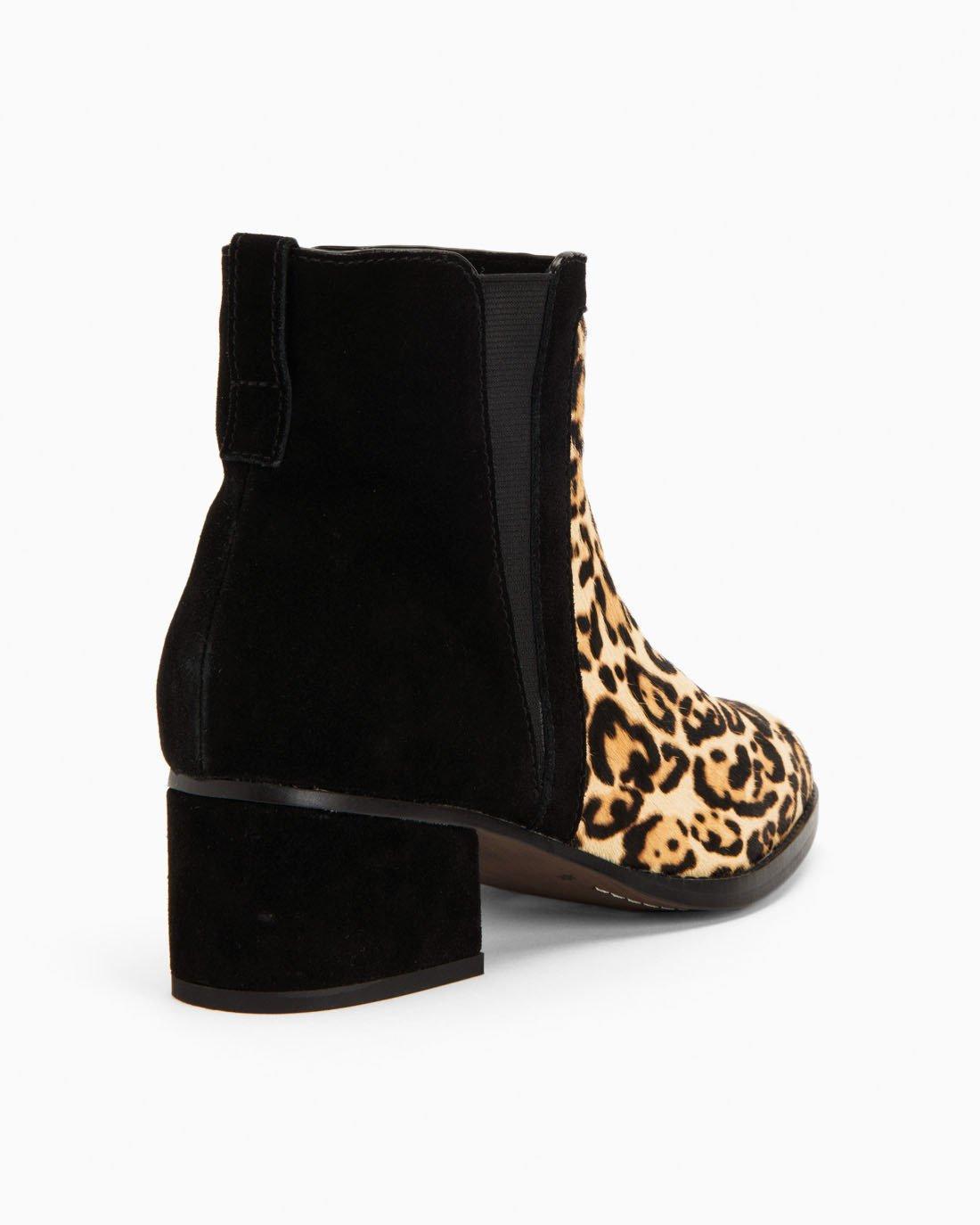 7ac407bc6b5e Splendid - Brown Rosalie Calf Hair Leopard Bootie - Lyst. View fullscreen