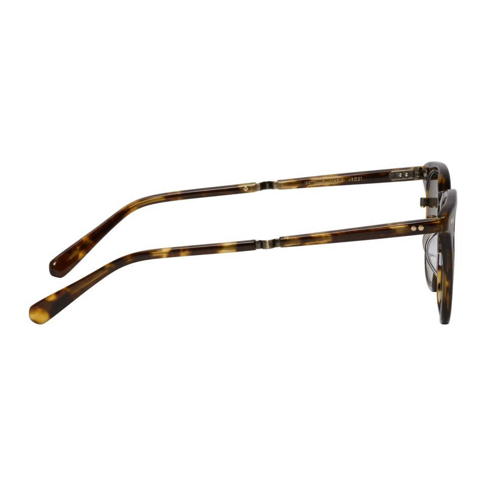 Tortoiseshell Getty S 48 Sunglasses Mr. Leight PeZI1Y