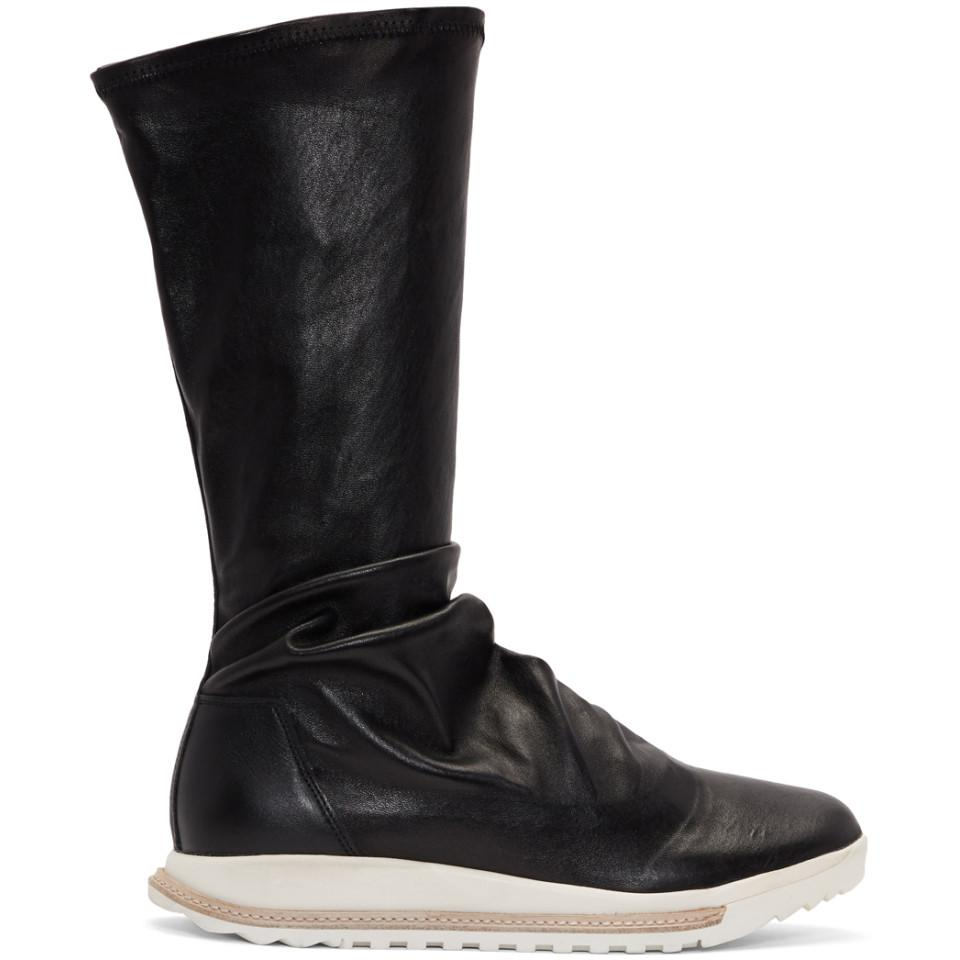Givenchy Black Dirt Grafton Sock High-Top Sneakers