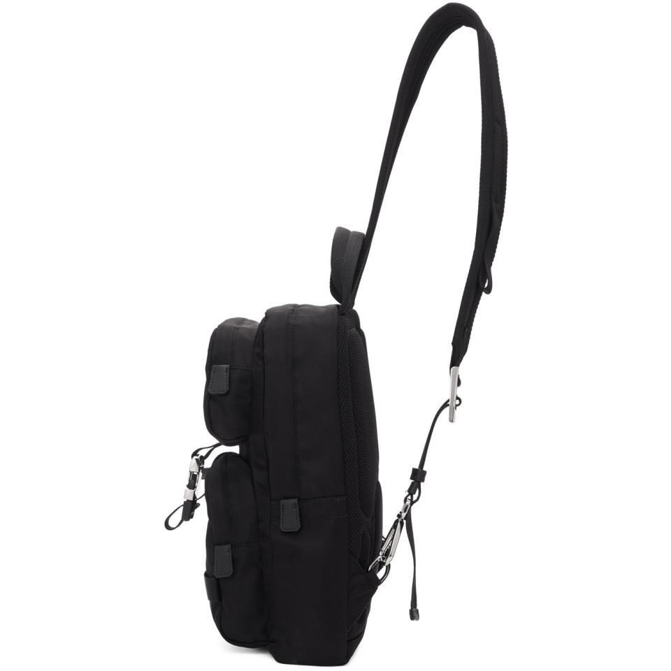 3c6199d51524 Prada - Black Nylon Mountain Messenger Bag for Men - Lyst. View fullscreen