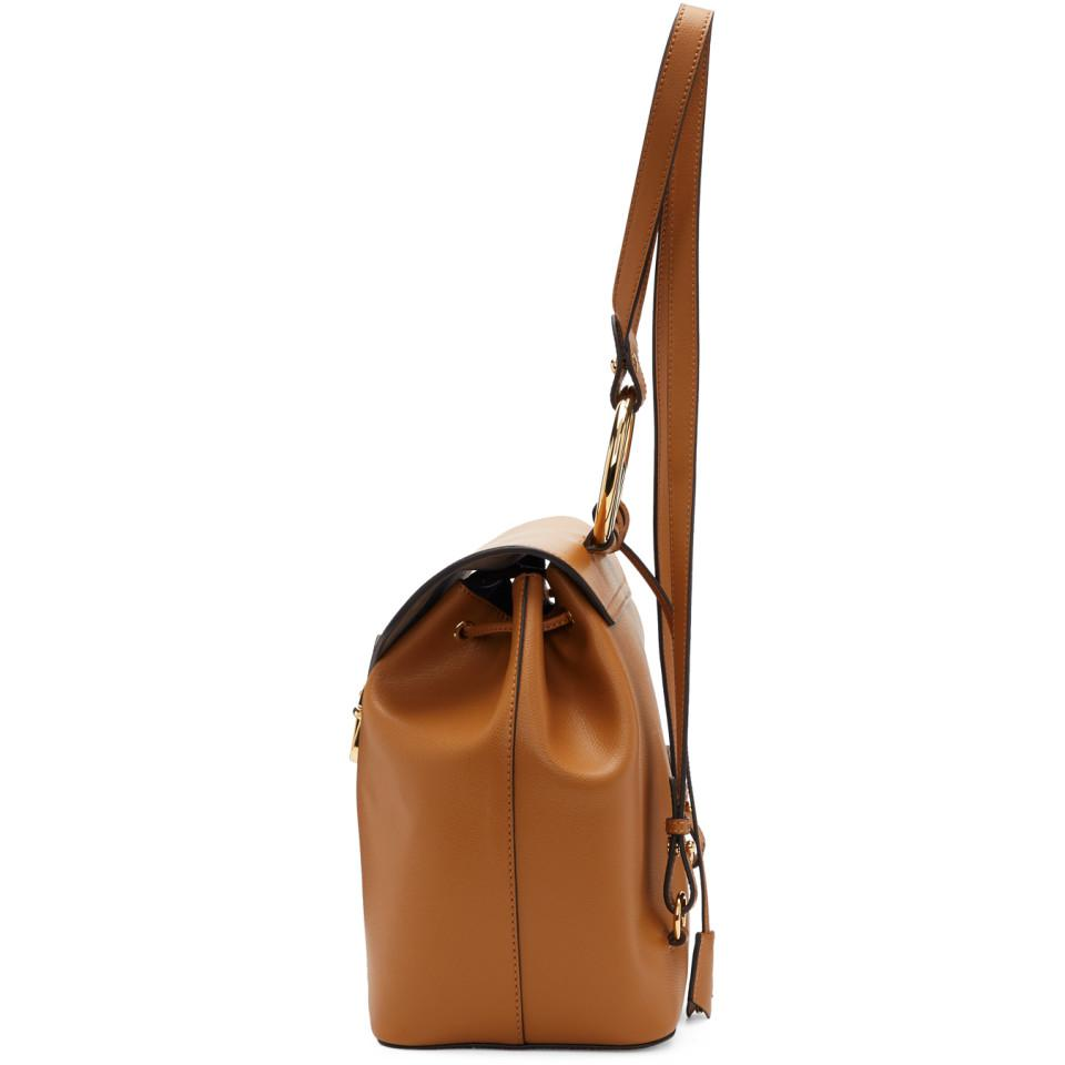 d174fc014087 Fendi - Brown F Is Backpack - Lyst. View fullscreen