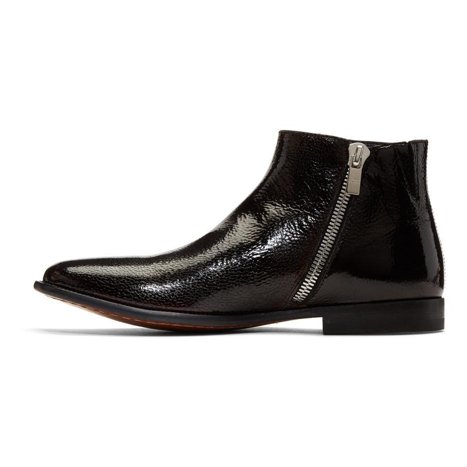 Brown Zermatt Zip Boots Alexander McQueen u7gbh0xfF2