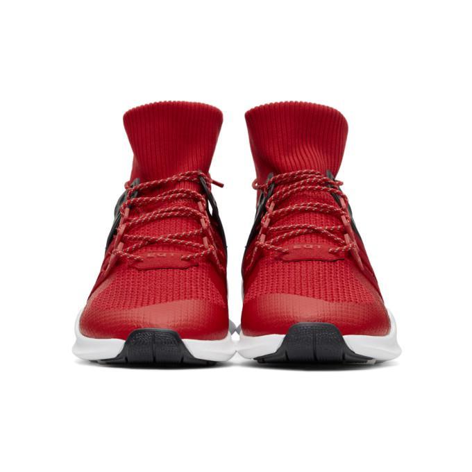 Adidas Originals Rojo y morado EQT Support ADV Winter High Top