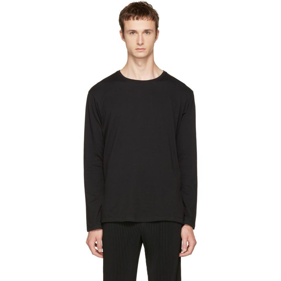 Black Bio T-Shirt Issey Miyake Outlet Locations For Sale Free Shipping Discount Visit Buy Online Outlet zmltEJ8