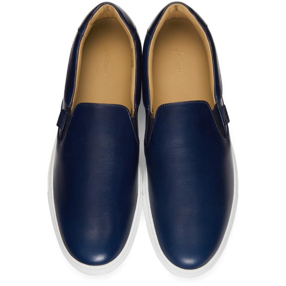Navy Larry Slip-On Sneakers Brioni Rjn6XKtaj