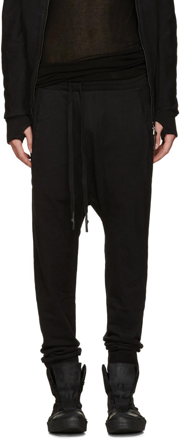 Boris bidjan saberi 11 Black Sarouel Lounge Pants in Black ...